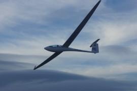 Unsere neue ASG29 beim Fotoflug