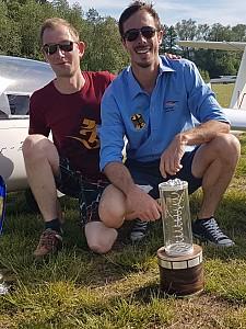 Segelflieger Jan Omsels gewinnt die Deutsche Meisterschaft