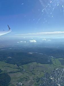 Hohe Wellenflüge über dem Usinger Land